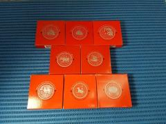 1993 - 2000 Singapore Lunar Series $10 Cupro-Nickel Proof-Like Coin ( Price Per Piece )