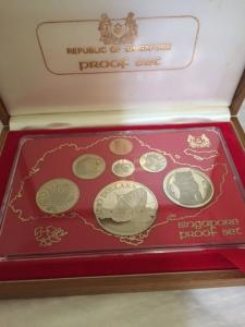1980 1st series Singapore Mint Sterling Silver Proof Coin Set