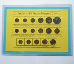 All In One Singapore Coins 1st to 3rd Series