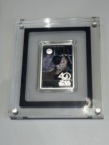 <SOLD!> Star Wars 40th Anniversary 1oz silver proof coin
