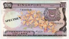 Singapore Orchid Series $25 Replacement 330819