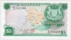 Singapore Orchid Series $5 765439