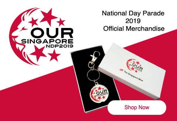 Singapore National Day Parade  2019  Official Merchandise